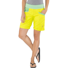 La Sportiva Ramp Shorts Women Apple Green/Jade Green